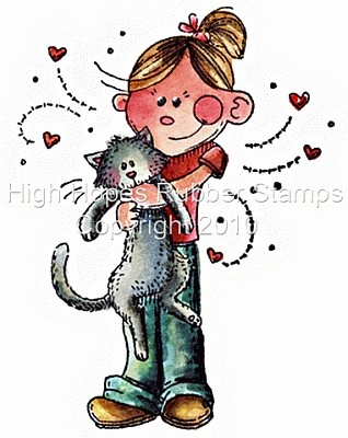 A Girl and her Kitty *NEU*