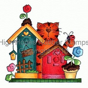 Kitty By Birdhouses *NEU*
