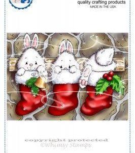 Christmas Bunny Stockings