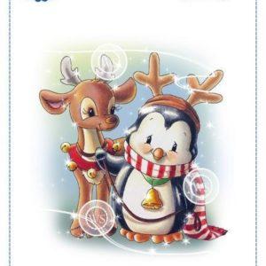 Penguin and Reindeer Friend