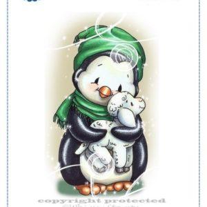 Penguin Cuddles Lamb