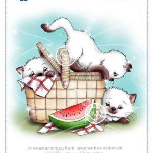 Purr-fect Picnic Cats