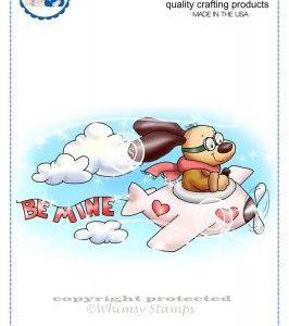 Doggie Skywriter Valentine