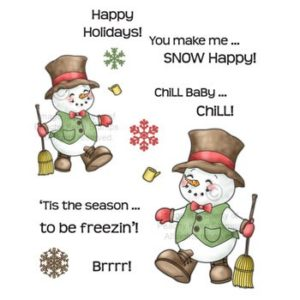 Chill Baby Chill Snowman Set