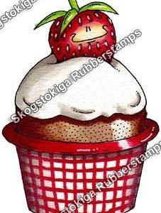 Erdbeermuffin