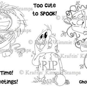 Too Cute to Spook 1