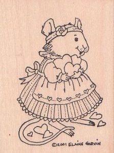 Maus mit Herzen