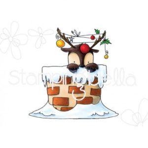 Peekaboo Reindeer