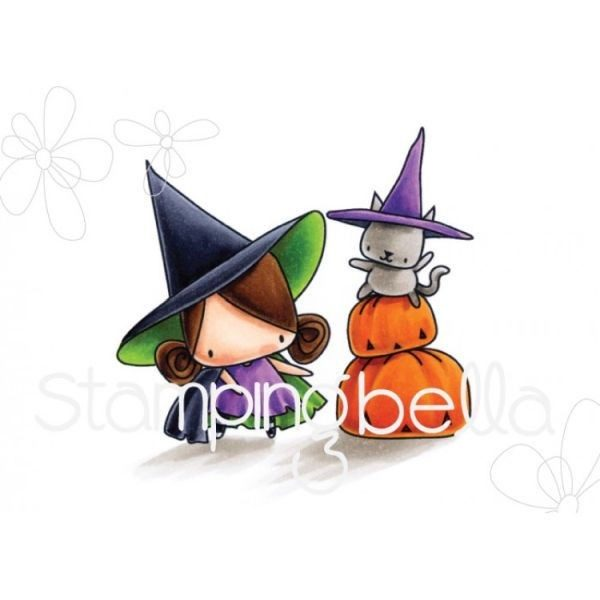 Pumpkin w/ Witchy on Top