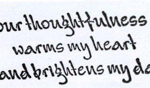 Text Thoughtfulness