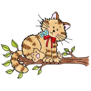Kitty on Branch