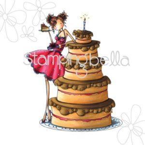 Bianca has a Big Cake