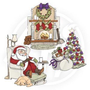 Sleepy Santa TryFolds