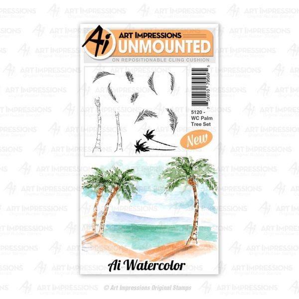 WC Palm Tree Set