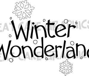 Words: Winter Wonderland