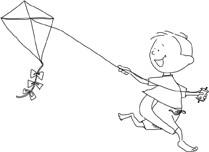 Simon and his Kite