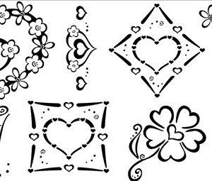 Hearts - Set 3