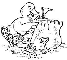 Beach Duckie