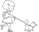 Betty and Tigger