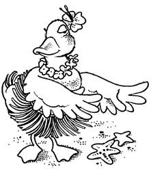 Hula Duckie