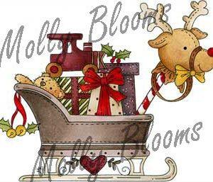 Santas Toy Filled Sleigh