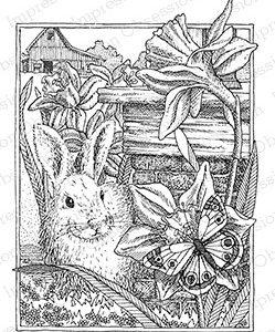 Bunny in Daffodils