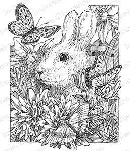 Bunny in Flowers
