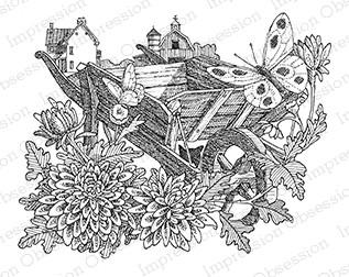 Spring Time Wheelbarrow