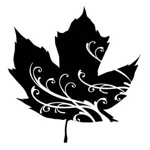 Maple Leaf Swirl