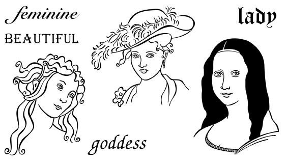 Women in Art 2 - Set 1