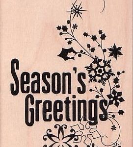 Season's Greetings Flourish
