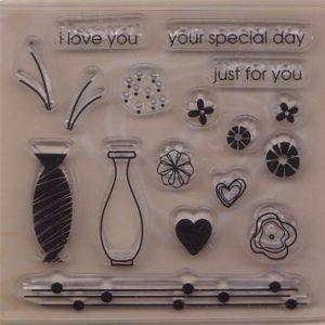 Special Floral Peg Set