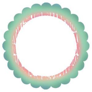 Garden Party - Circle Frame
