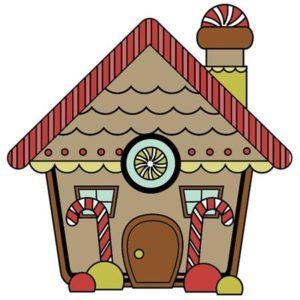 Santa's Little Helper - Gingerbread House