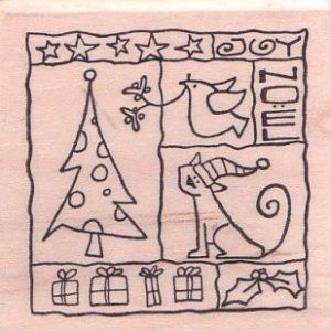 Weihnachts-Collage