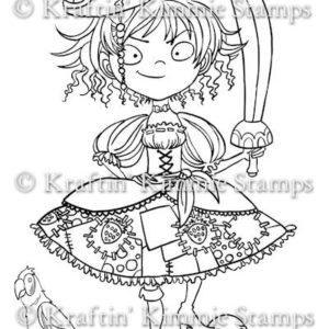 Alicia the Strawberry Pirate