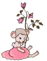 Little Mouse - Flower