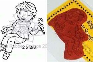 Sitting Boy / Candy Cane