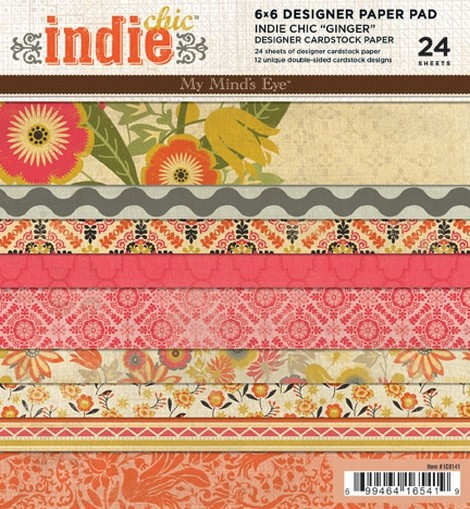 IC - Indie Chic - Ginger Paper Pad