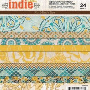 IC - Indie Chic - Nutmeg Paper Pad