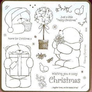 """Cozy Christmas - Home *NEU* 8x8"""""""