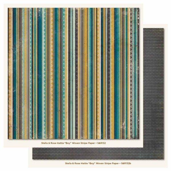 SR - Hattie - Boy - Woven Stripe