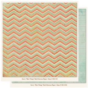 SS - Best Thing - Red Chevron