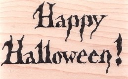 Bold Happy Halloween