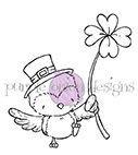 Lucky (Bird with Clover)