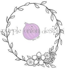 Large Floral Wreath