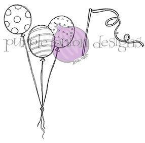 Balloon Trio & Streamer