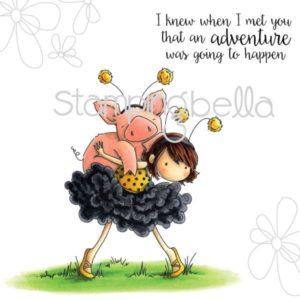 Petunia gets a Piggyback