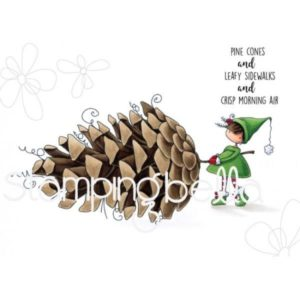 With a Pine Cone