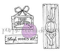Wood Winter & Holiday Signs